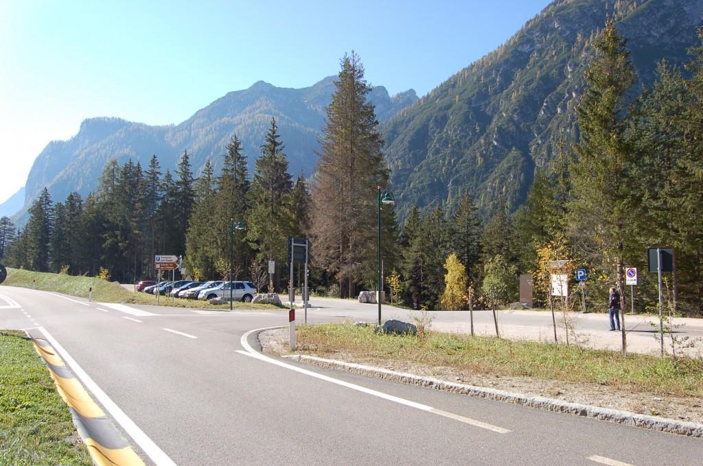 Parkplatz Toblacher See