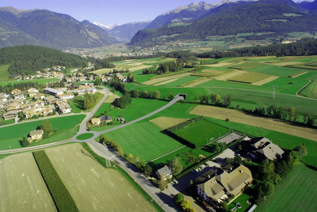 Südausfahrt Bruneck - Bereich Süd