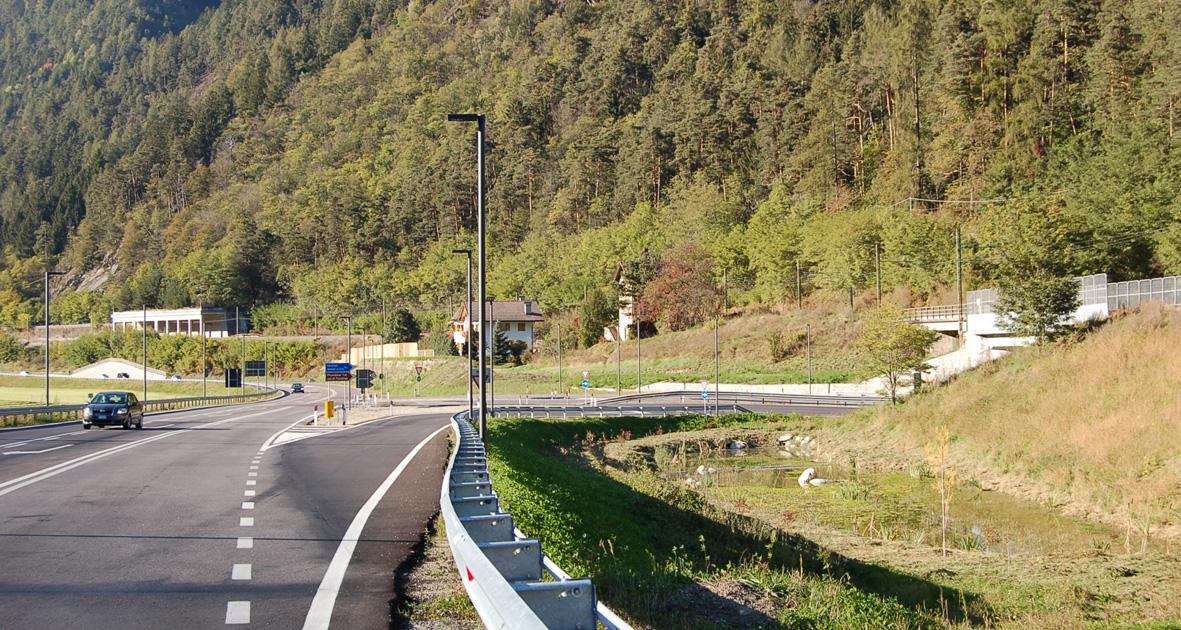 Ausbau Pustertaler Strasse